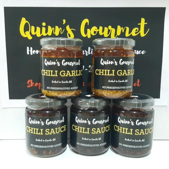 Quinn's Gourmet Chili Garlic & Chili Sauce