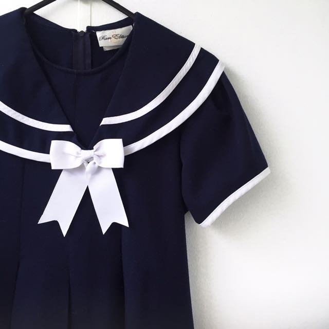 Rare Editions Pin Up Sailor Dress