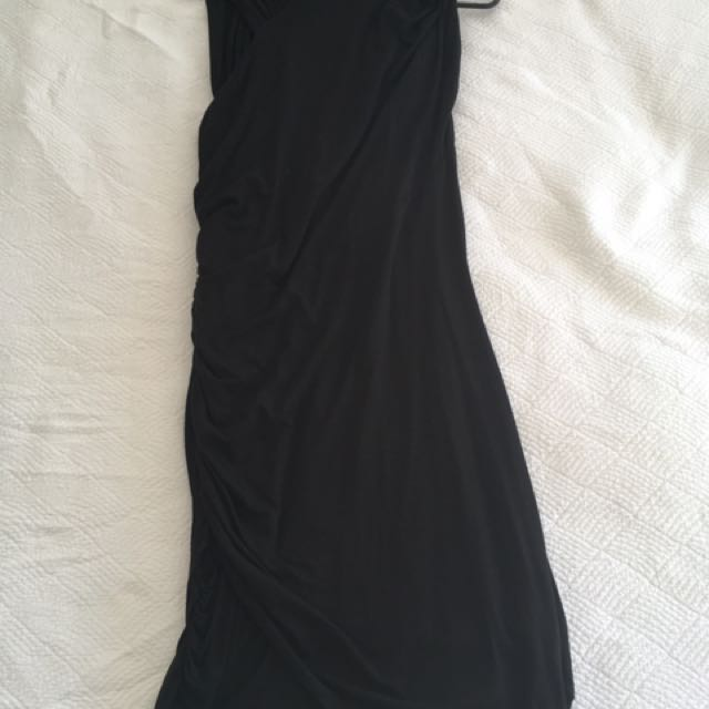 Ricochet - Black Bandage Dress