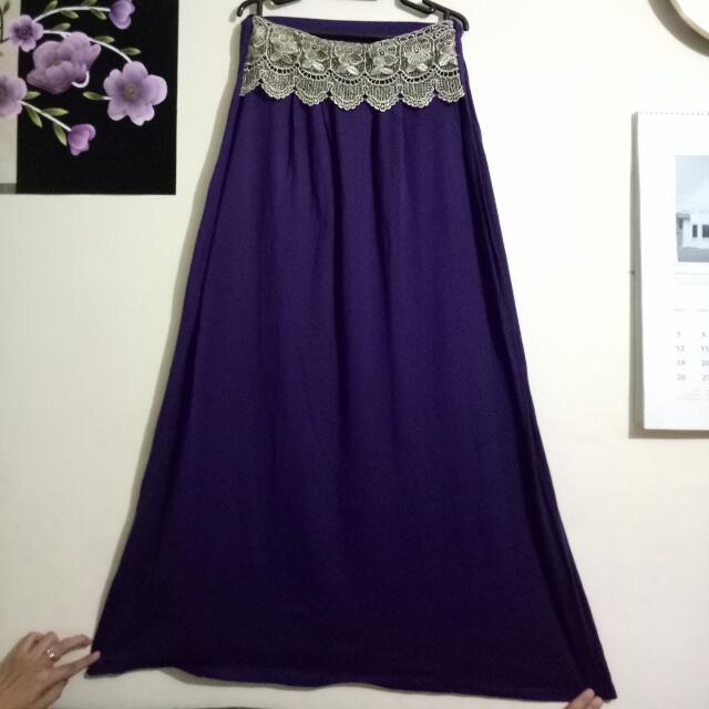 rok panjang / hijab