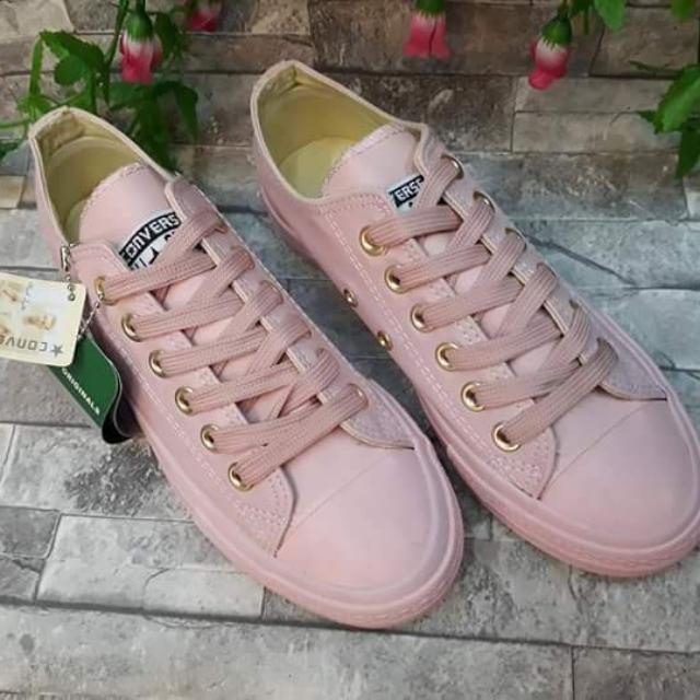 b4d4da1d91def4 ... order rose pink leather converse womens fashion shoes on carousell  f16c3 1b7cf