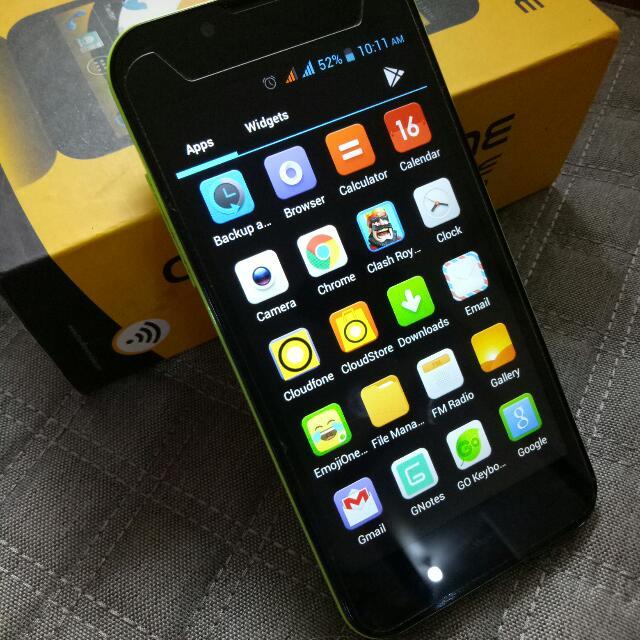SALE!! Cloudfone Excite 502q