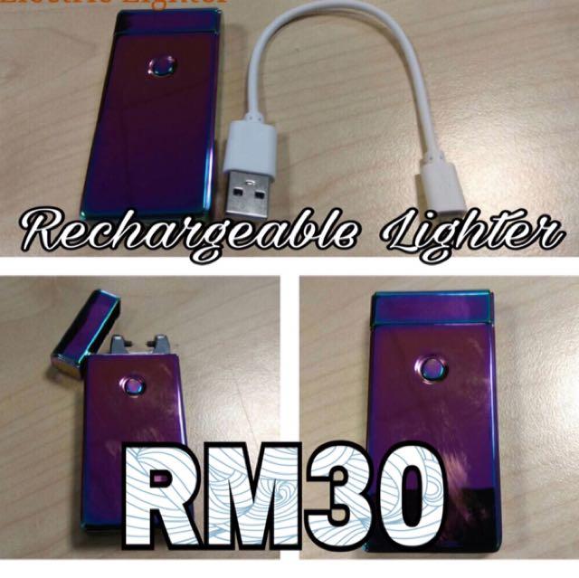 Single Arc Electric Lighter