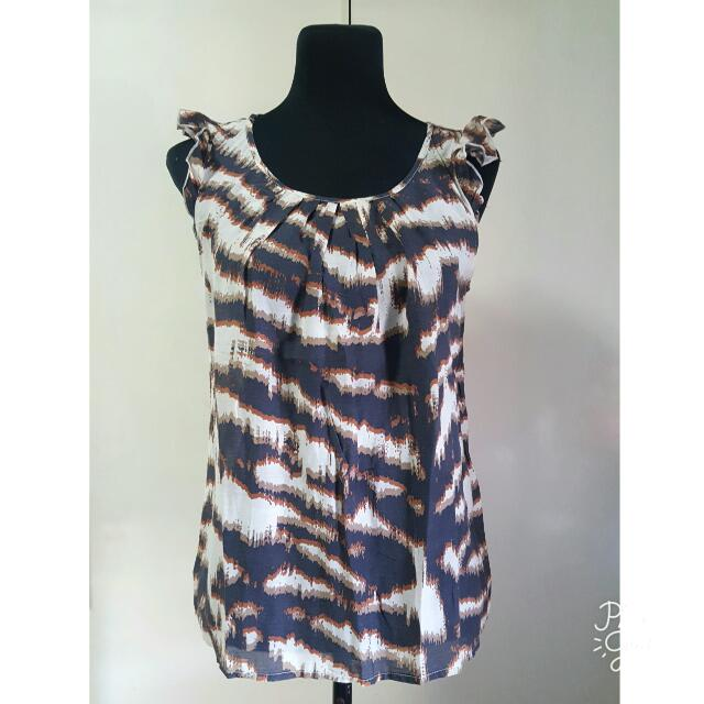 Sinéquanone Animal Print Dainty Top