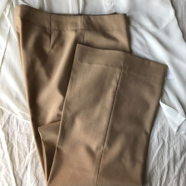 Size 4 Tanned Dress Pants