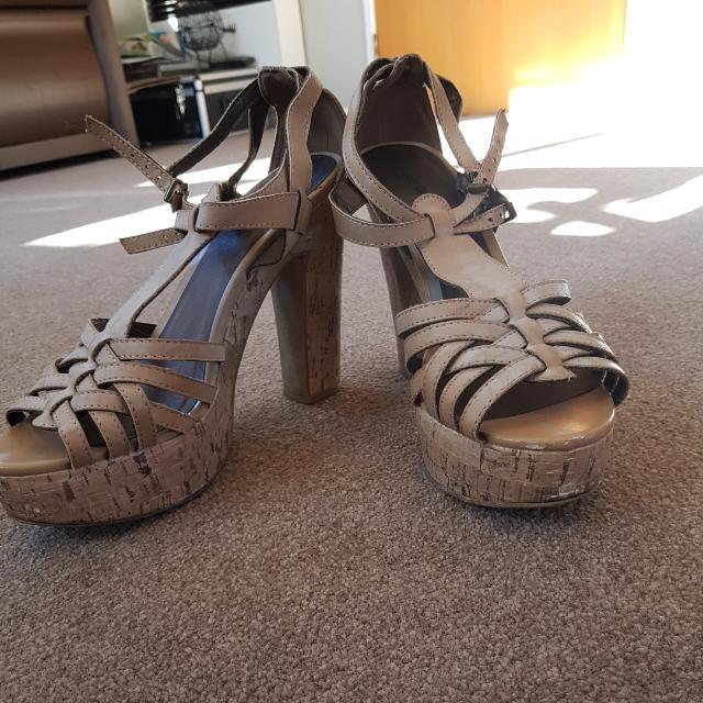 Size 8 Strappy Heels