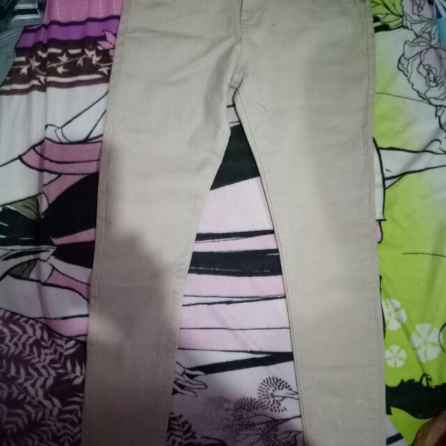 Skinny Pants Kaki