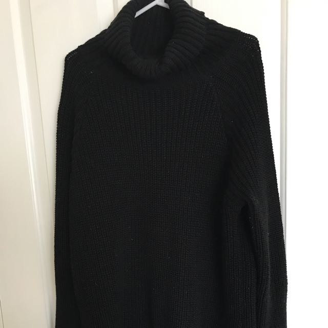 SLIDE SHOW Turtle Neck Jumper