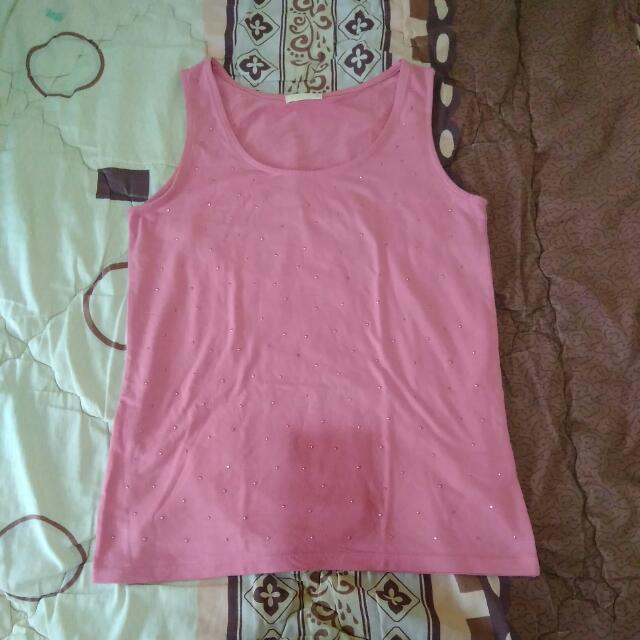 Sparkle Pink Tank Top