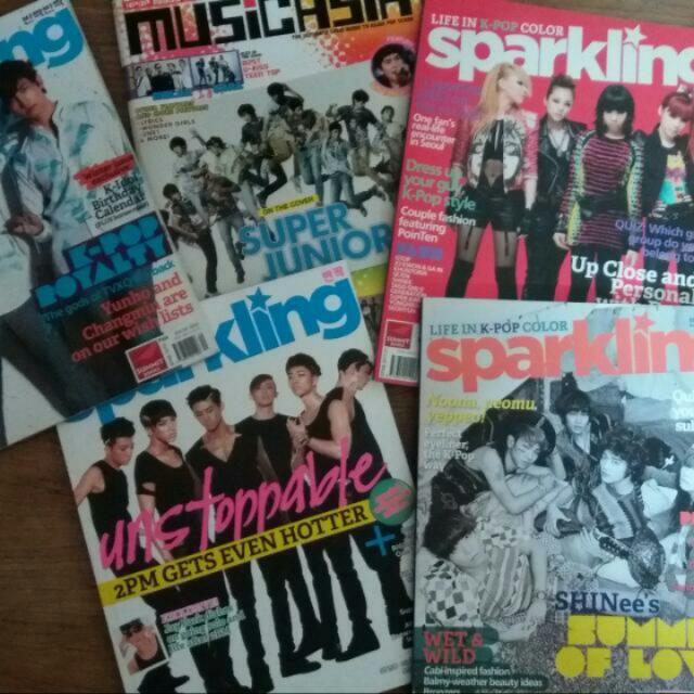 Sparkling Magazine Bundle
