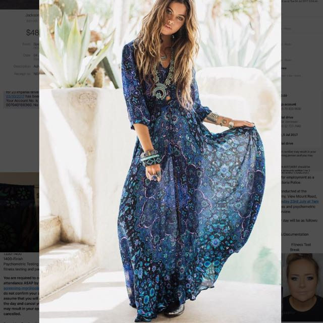 Spell Design Bluejay Gown