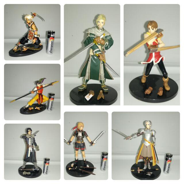 Suikoden Playstion Figures
