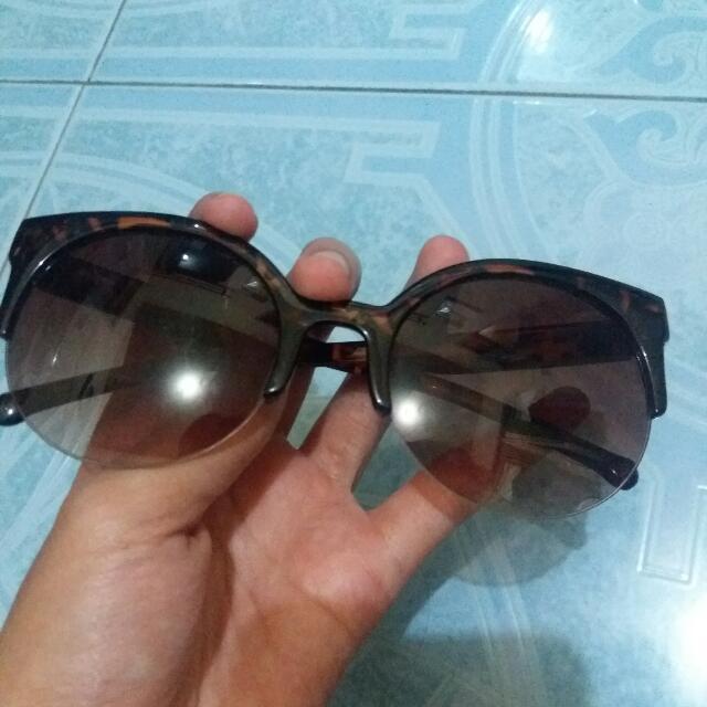 Sunglasses Cat Eye Leopard