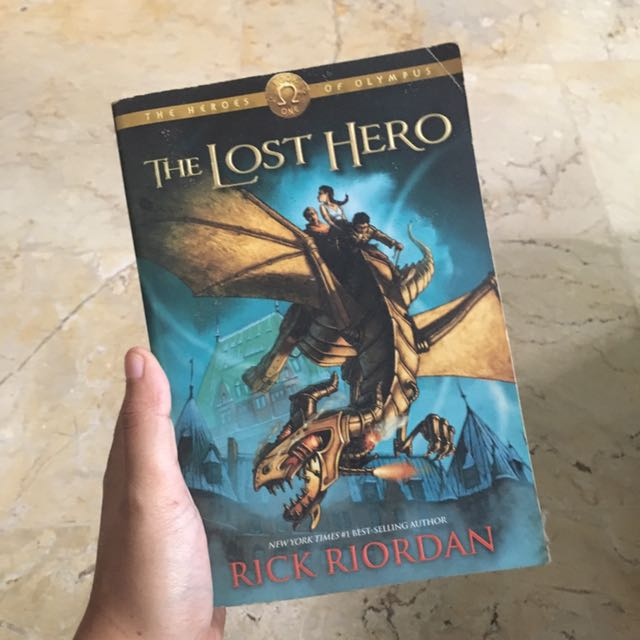 [TANYA KE BOOKS LOVER] Heroes Of Olympus #1: The Lost Hero