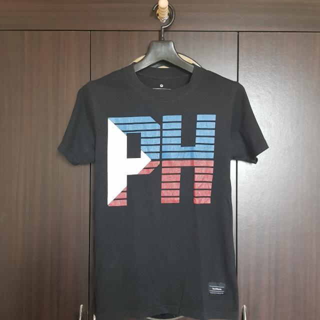 Team Manila Black Shirt With PH Print - Small