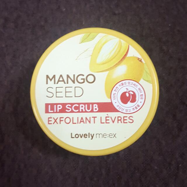 The Face Shop Mango Seed Lip Scrub