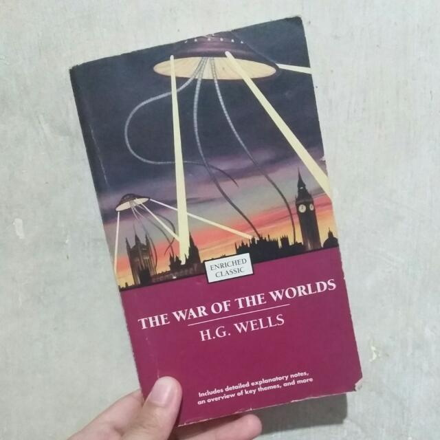 The War Of The Worlds Novel Book