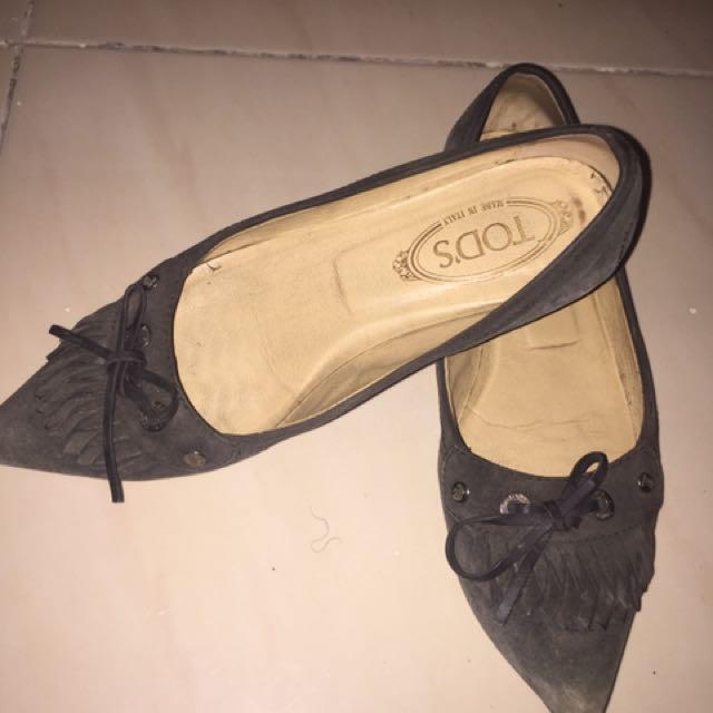 Tods Suede Flatshoes
