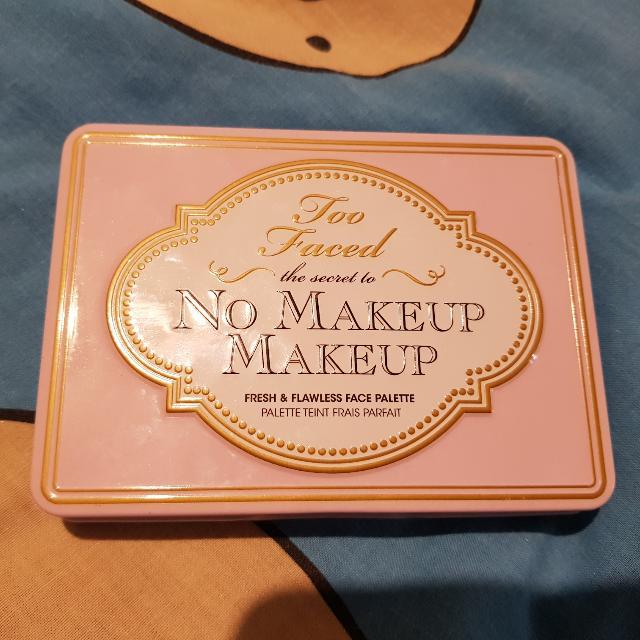 TOO FACED 'No Make Up' Make Up Palette