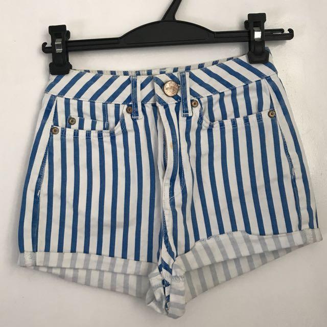 top shop highwaist shorts