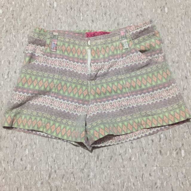 tribal designed short