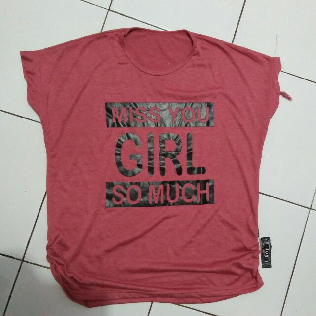 T-shirt Pink Only @30k