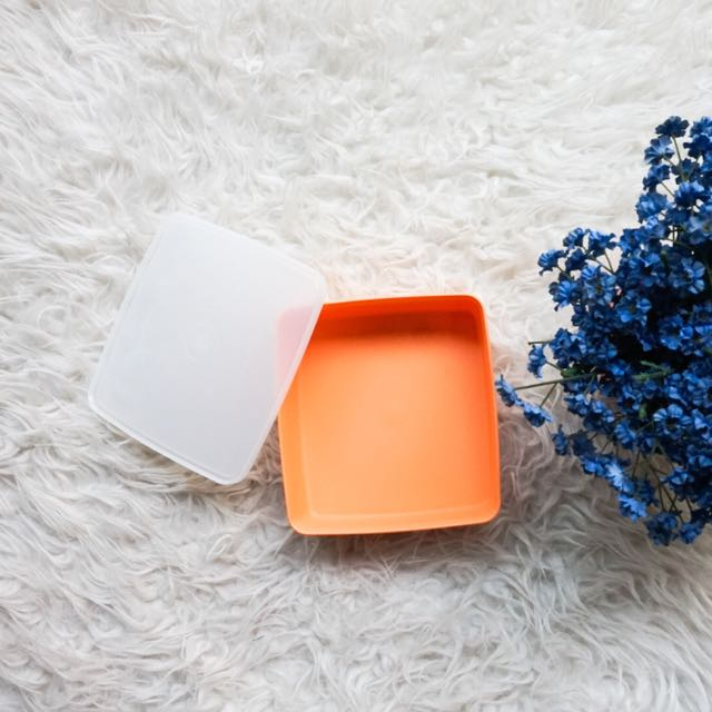 Tempat Makan Tupperware Lunch Square Orange