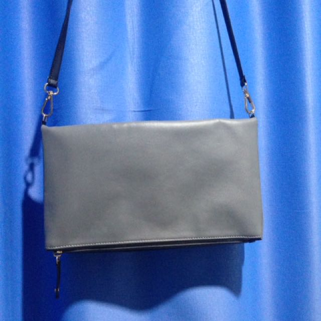 Two Tones Sling Bag/clutch