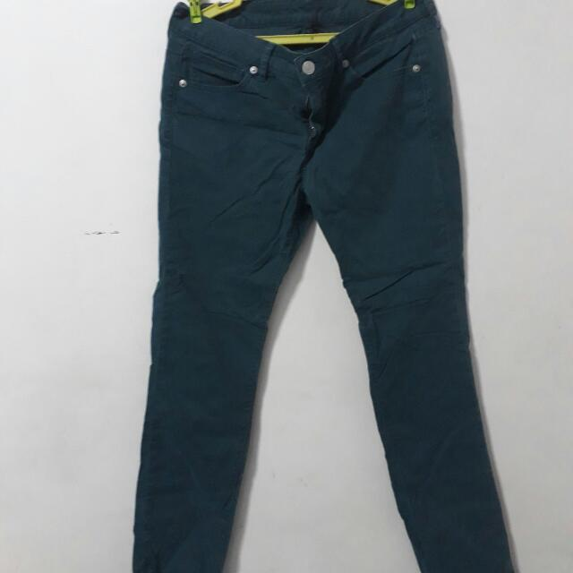 Uniqlo Blue Green Pants