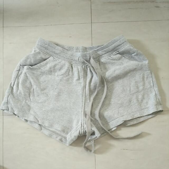 Uniqlo Gray Jogger Shorts