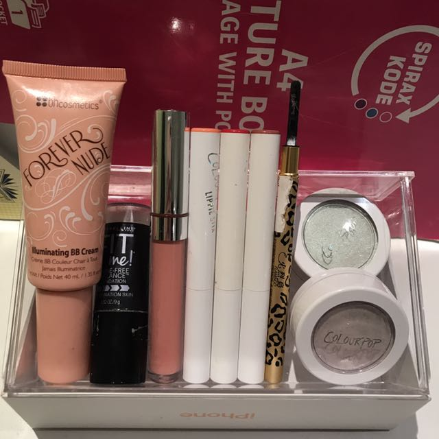 Used Authentic Makeup Bundle
