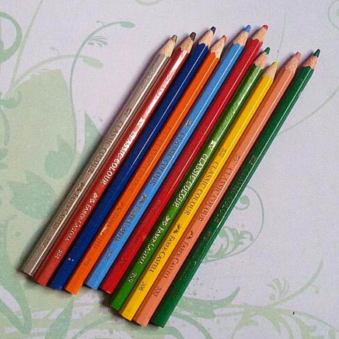 Used Faber Castell loose Pencils