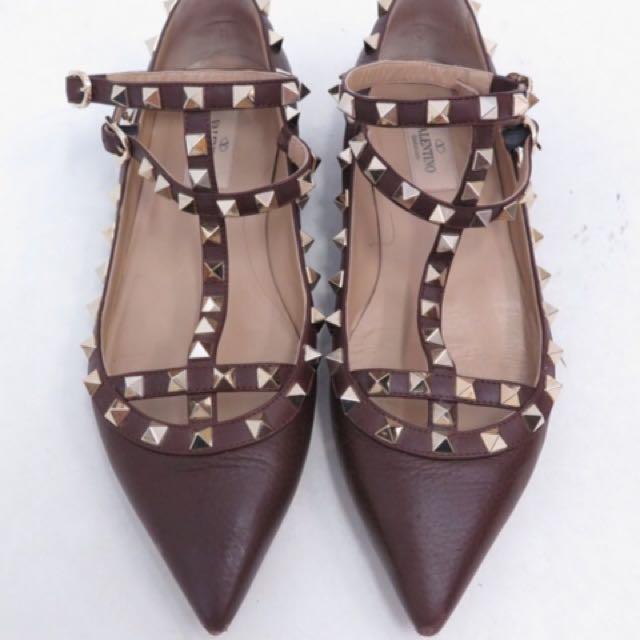 VALENTINO Caged Flatshoes