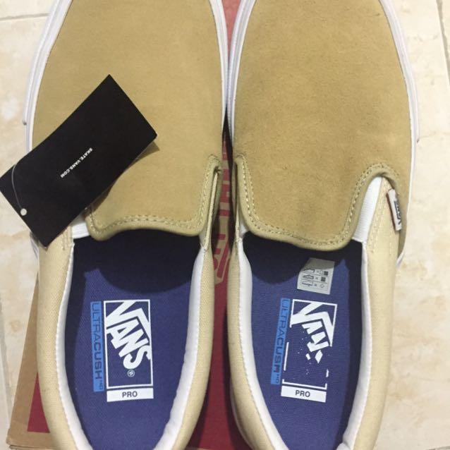 Vans Slip-on Pro Sand(Size 10)