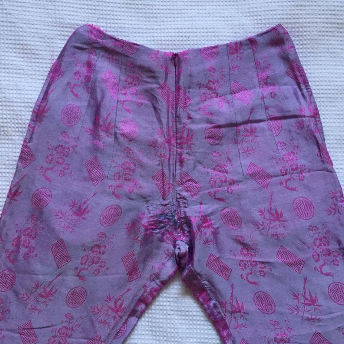 VINTAGE ORIENTAL HW PINK PANTS