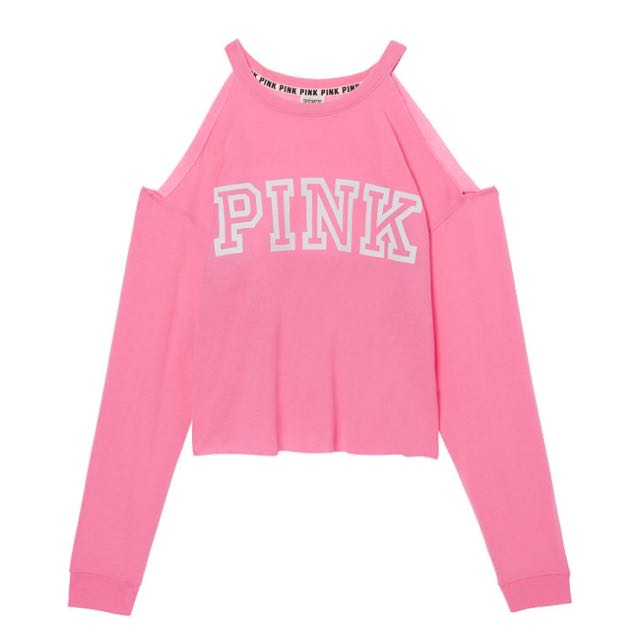 VS PINK 露肩上衣