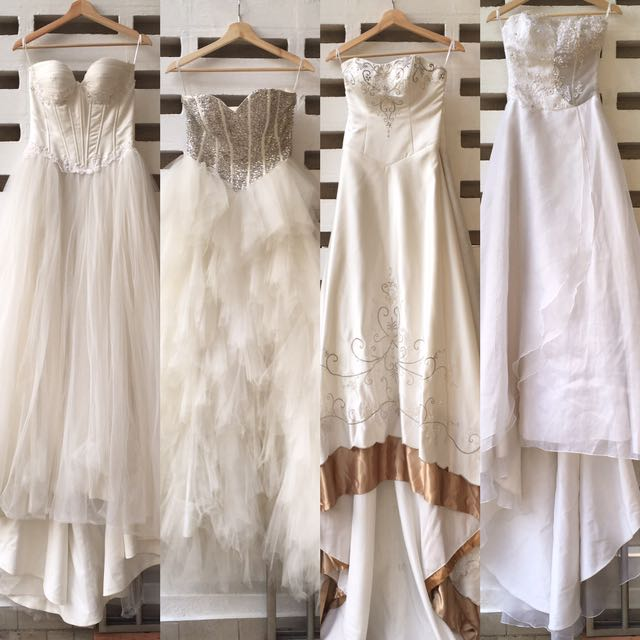 Wedding Gown Clearance Sample Sale, Women\'s Fashion, Clothes ...