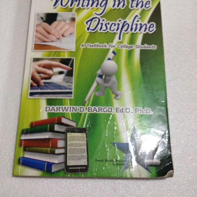 Writing In Discipline