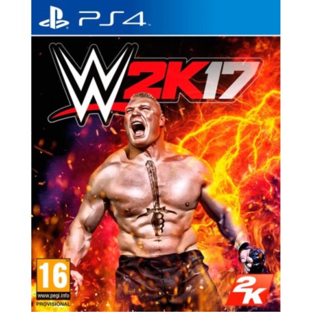 WWE 2K17 PS4 (Digital Download)
