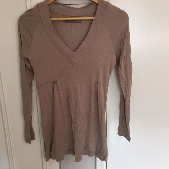 ZARA Long Sleeved Top
