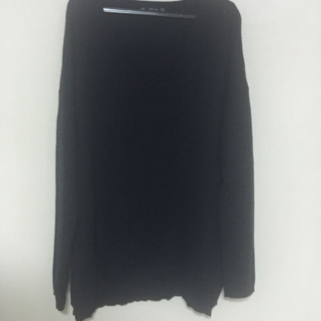 Zara Navy Blue Knitted Sweater