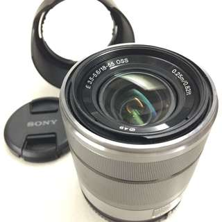 Sony Lens E-Mount SEL1855 (LIKE NEW) *REDUCED $$$*