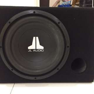 """JL Audio 12"""" Woofer With Box"""