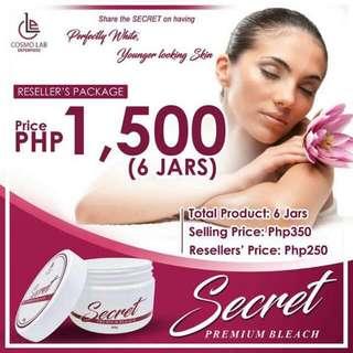 secret bleaching cream