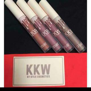 Kylie KKW Lipcream Set