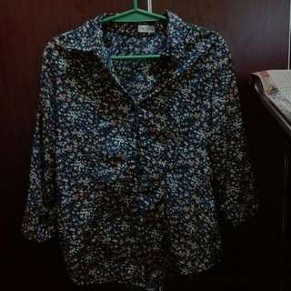 pazzo floral 3/4 blouse