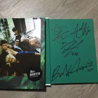 NU'EST Signed And Unsigned RE:BIRTH Albums