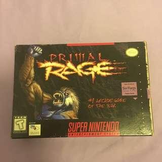 Primal Rage For Nintendo Super Nes