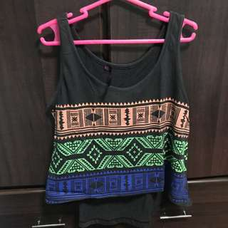 NEXT sleeveless cropped top