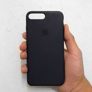 iPhone 7 Plus Silicone Case - Midnight Blue